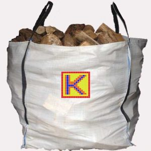 Kildare Logs tonne bag of firewood logs