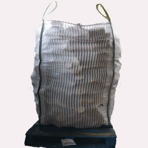 large 1.6 cubic meter bag of hardwood logs